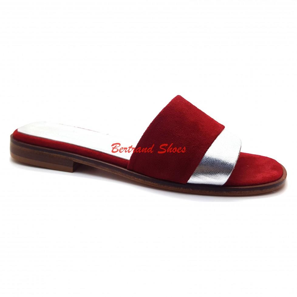Sandales en cuir et daim Star