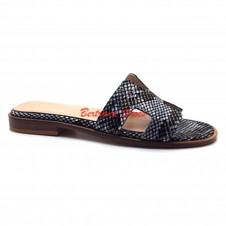 Sandales H en cuir - 016
