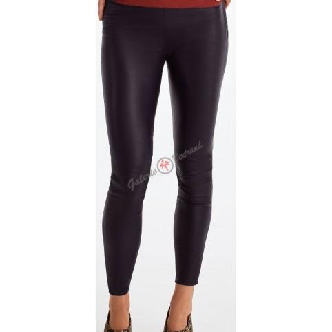 Pantalon legging en cuir - Lia