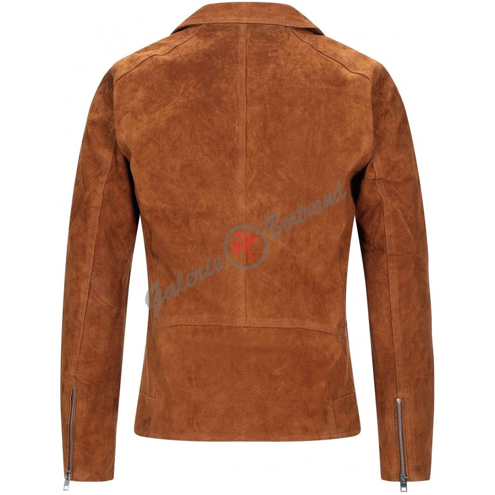 Leather bluchers
