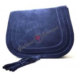 Leather shoes - black color