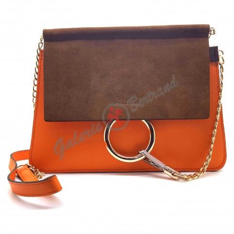 Leather belt 3cm