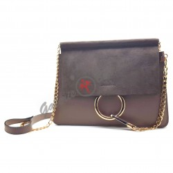Black large leather wallet