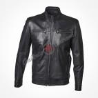 Single gusset leather satchel