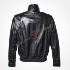 Leather travel bag 68x40cm