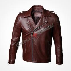 Manteau en daim avec ceinture