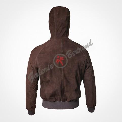 Suede saharan jacket